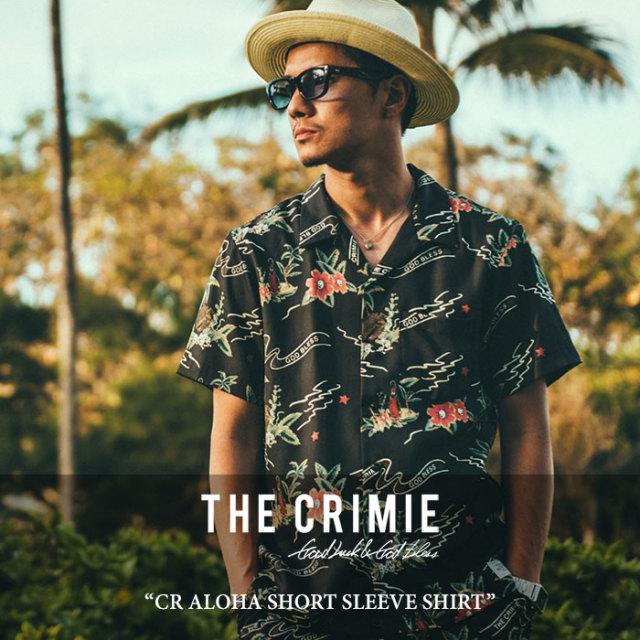 CRIMIE(クライミー) CR ALOHA SHORT SLEEVE SHIRT 【2018 SUMMER新作】 【送料無料】【即発送可能】 【C1H3-SH16】
