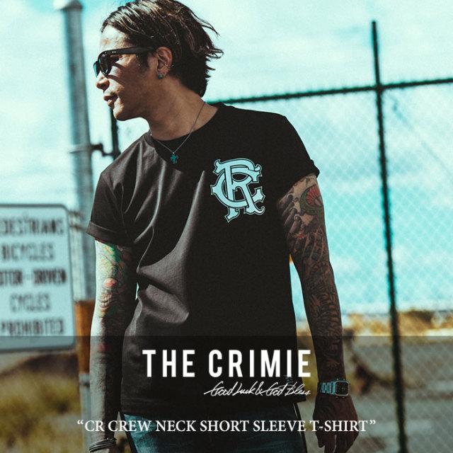 CRIMIE(クライミー) CR CREW NECK SHORT SLEEVE T-SHIRT 【2018 SUMMER先行予約】 【キャンセル不可】 【C1H3-TE10】