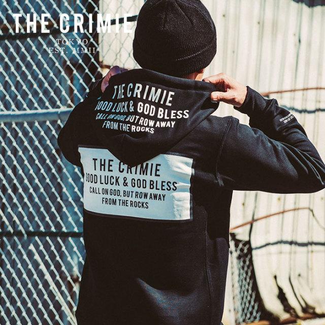 CRIMIE(クライミー) BOX LOGO ZIP PARKA 【2019AUTUMN&WINTER先行予約】 【キャンセル不可】【CR01-01K5-CL60】【パーカー】