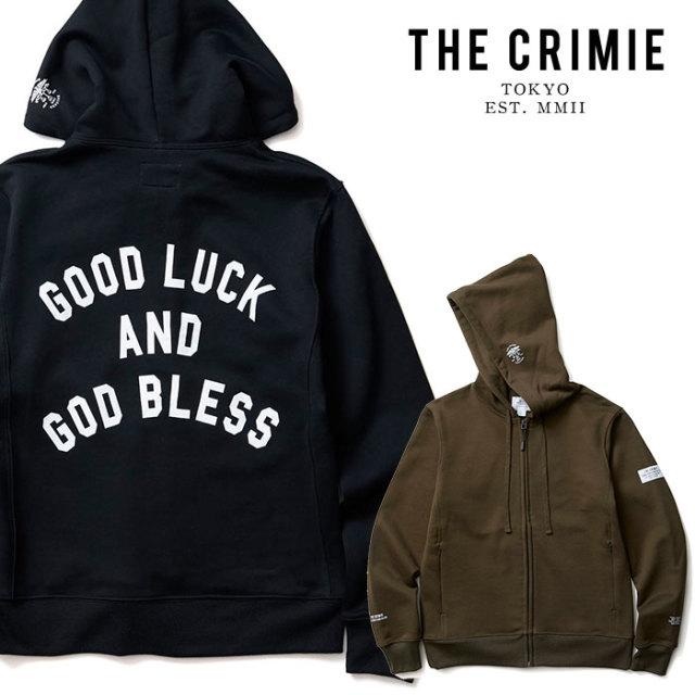 CRIMIE(クライミー) GLGB ZIP PARKA 【2019AUTUMN&WINTER先行予約】 【キャンセル不可】【CR01-01K5-CL61】【パーカー】