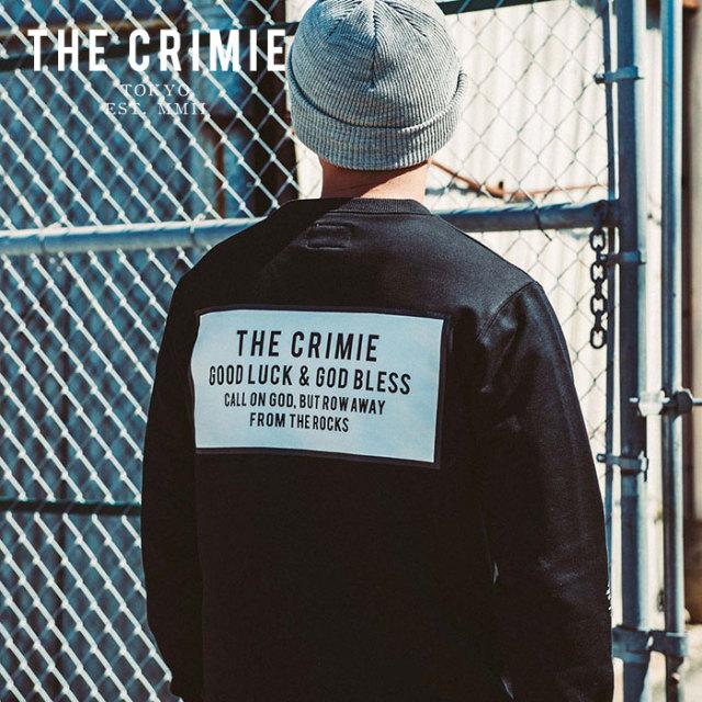 CRIMIE(クライミー) BOX LOGO CREW POCKET SWEAT 【2019AUTUMN&WINTER先行予約】 【キャンセル不可】【CR01-01K5-CL63】【スウェ