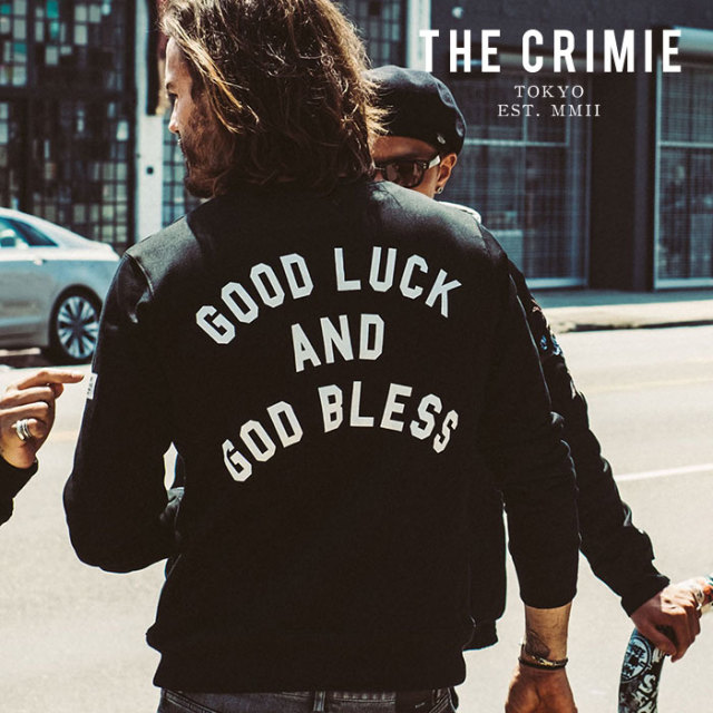 CRIMIE(クライミー) GLGB CREW  POCKET SWEAT 【2019AUTUMN&WINTER先行予約】 【キャンセル不可】【CR01-01K5-CL64】【スウェット