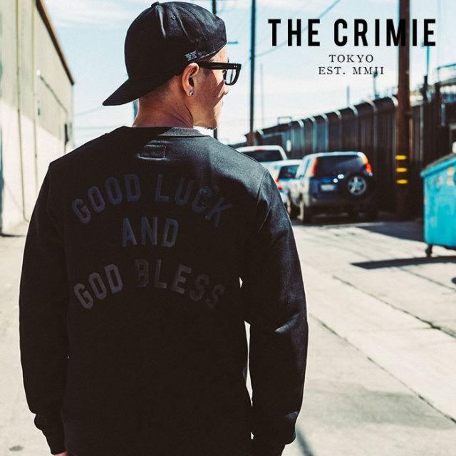 CRIMIE(クライミー) LOGO CREW  POCKET SWEAT 【2019AUTUMN&WINTER先行予約】 【キャンセル不可】【CR01-01K5-CL65】【スウェット