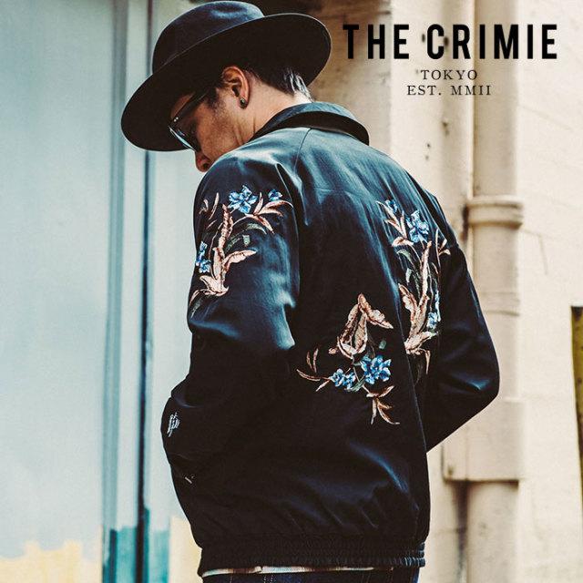 CRIMIE(クライミー) REVERSIBLE SOUVENIR JACKET 【リバーシブル スーベニア ジャケット】【黒 ブラック カーキ おしゃれ アメカジ