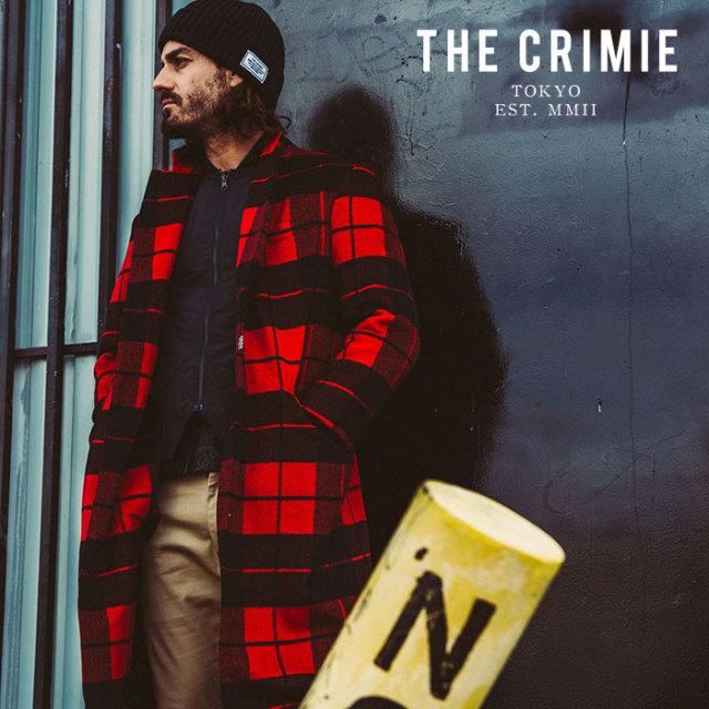 CRIMIE(クライミー) WOOL CHECK CHESTER COAT 【2019AUTUMN&WINTER先行予約】 【キャンセル不可】【CR01-01K5-JK05】【チェスター