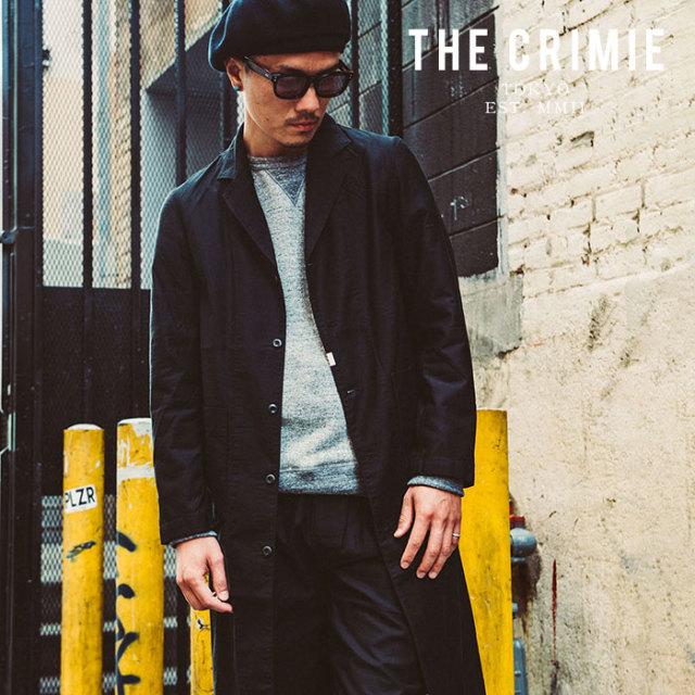 CRIMIE(クライミー) JOE MILITARY SHOP COAT 【ショップコート ミリタリー ジャケット】【黒 ブラック カーキ おしゃれ】 【送料