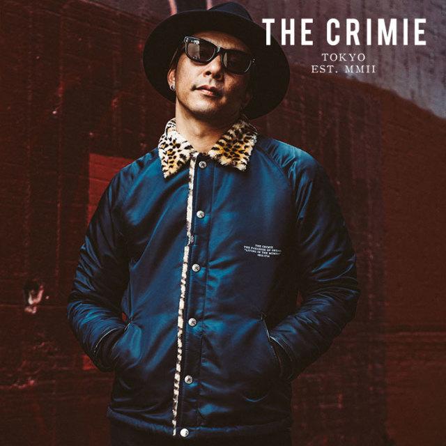 CRIMIE(クライミー) LEOPARD BOA JACKET 【2019AUTUMN&WINTER先行予約】 【キャンセル不可】【CR01-01K5-JK22】【ボアジャケット