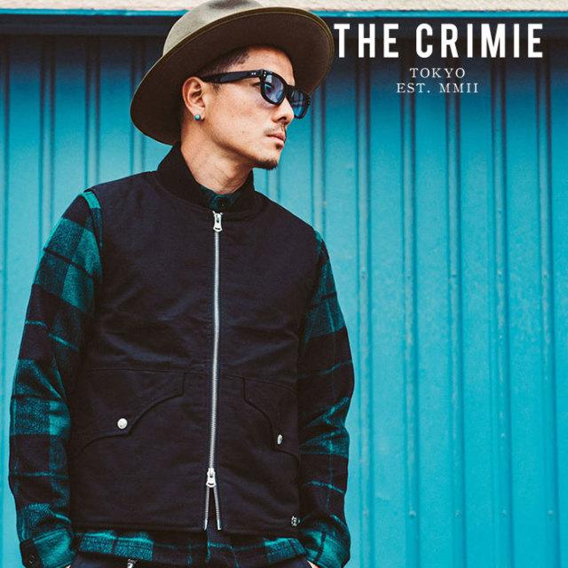 CRIMIE(クライミー) BACK SATAIN THINSULATE VEST 【2019AUTUMN&WINTER先行予約】 【キャンセル不可】【CR01-01K5-JK25】【ベスト
