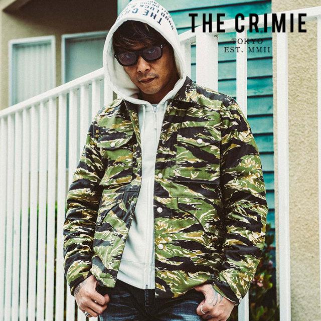 CRIMIE(クライミー) BACK SATAIN THINSULATE CAMO COVER ALL JACKET 【2019AUTUMN&WINTER先行予約】 【キャンセル不可】【CR01-01