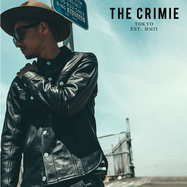 CRIMIE(クライミー) LEATHER BORN FREE SHIRT JACKET 【2019AUTUMN&WINTER先行予約】 【キャンセル不可】【CR01-01K5-JK51】【レ