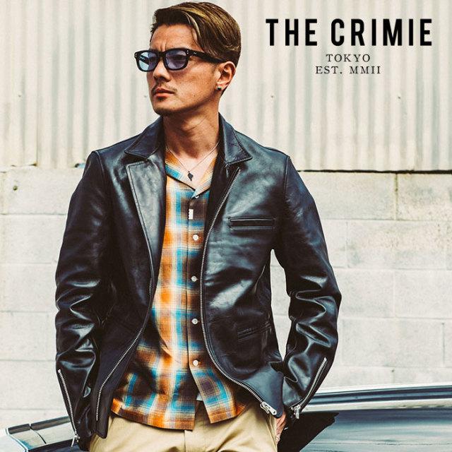 CRIMIE(クライミー) BLAZER TYPE RIDERS LEATHER JACKET 【2019AUTUMN&WINTER先行予約】 【キャンセル不可】【CR01-01K5-JK56】【