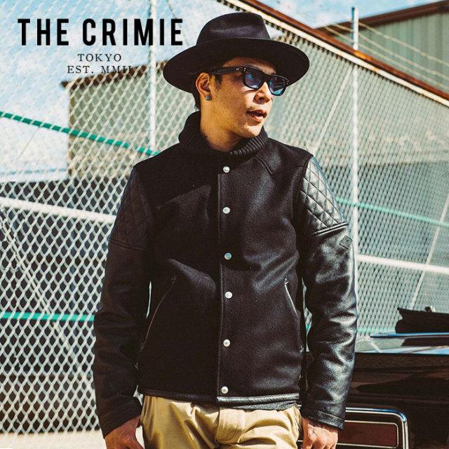 CRIMIE クライミー ジャケット WESTERN AWARD JACKET 【ウエスタンアワードジャケット】【スタジャン アメカジ ブラック 黒 おしゃ