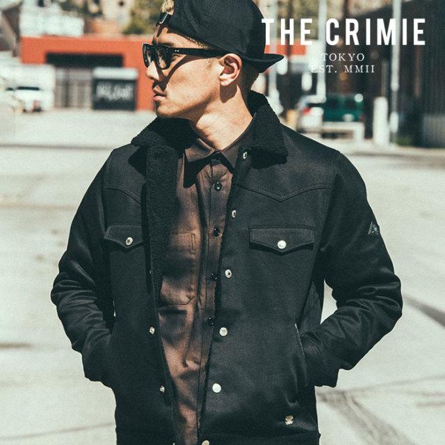 CRIMIE クライミー ジャケット BOBBY 2 BOA JACKET 【ボアジャケット】【黒 ブラック おしゃれ ミリタリー ストリート シンプル】