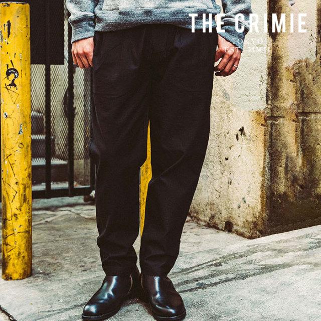 CRIMIE(クライミー) JOE MILITARY 2 TACK PANTS 【タックパンツ ミリタリー 黒 ブラック おしゃれ】 【送料無料】【2019AUTUMN&WI