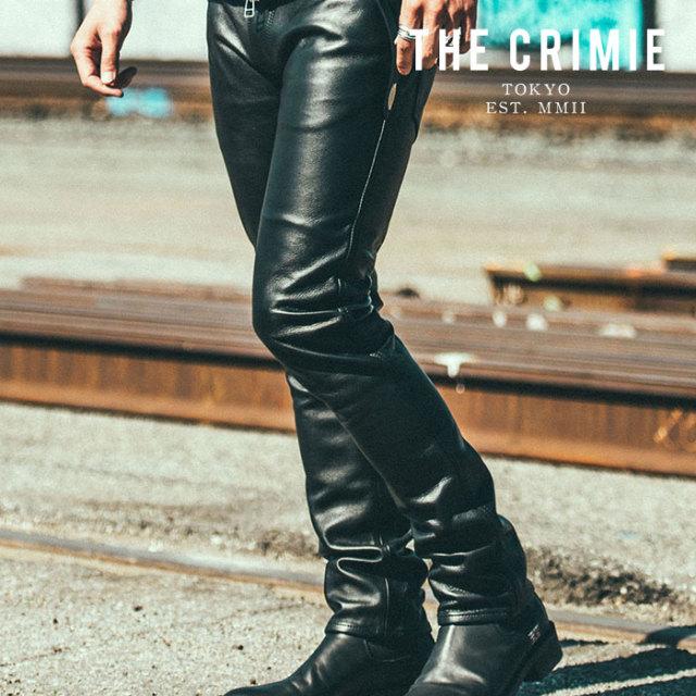 CRIMIE(クライミー) LEATHER BORN FREE II PANTS 【2019AUTUMN&WINTER先行予約】 【キャンセル不可】【CR01-01K5-PT52】【レザー