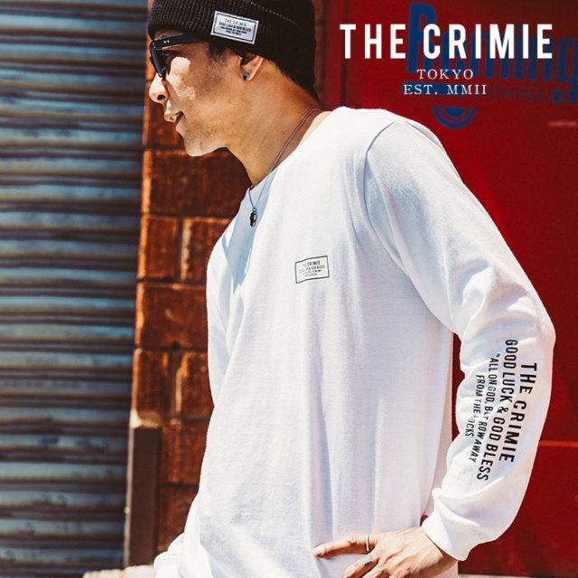 CRIMIE(クライミー) BOX LOGO LONG T SHIRT 【2019AUTUMN&WINTER先行予約】 【キャンセル不可】【CR01-01K5-TL06】【ロングスリー