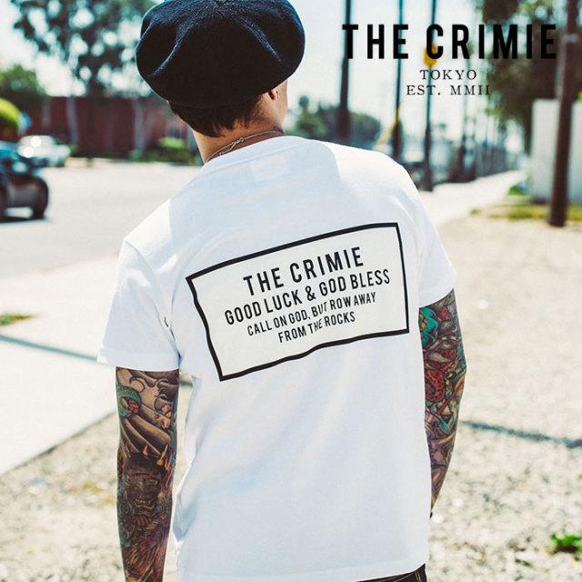 CRIMIE(クライミー) BOX LOGO POCKET T SHIRT 【2019AUTUMN&WINTER先行予約】 【キャンセル不可】【CR01-01K5-TS02】【Tシャツ】