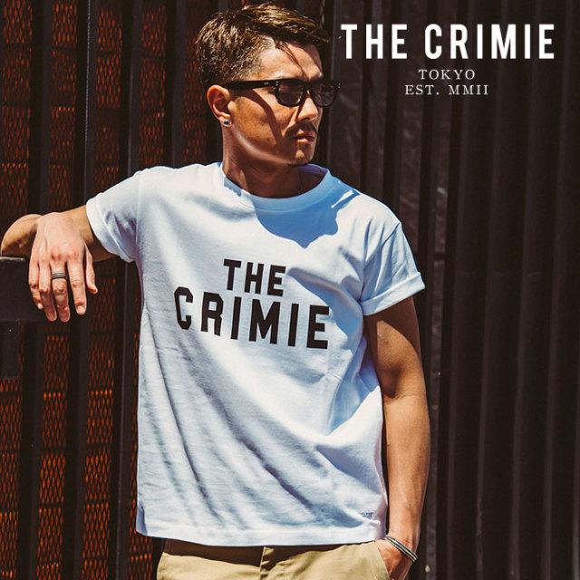 CRIMIE(クライミー) LOGO T SHIRT 【2019AUTUMN&WINTER先行予約】 【キャンセル不可】【CR01-01K5-TS05】【Tシャツ】