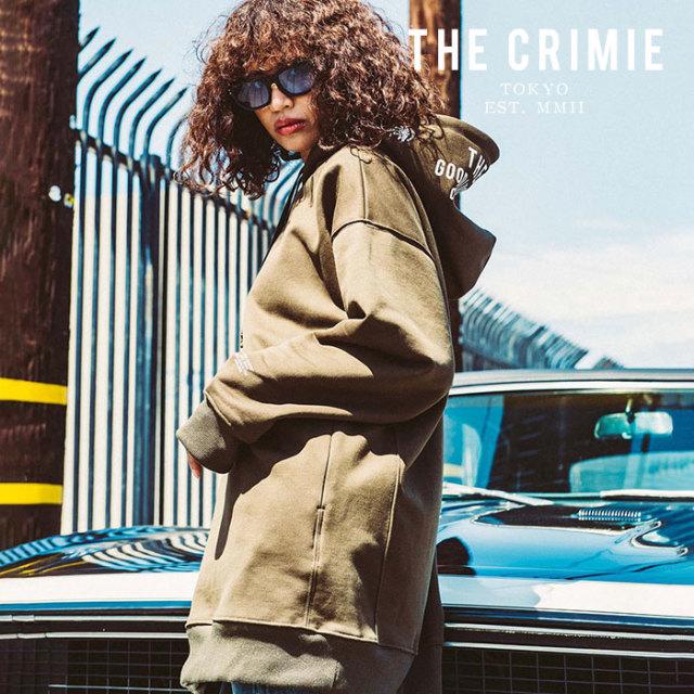 CRIMIE(クライミー) WOMEN BIG PARKA 【2019AUTUMN&WINTER先行予約】 【キャンセル不可】【CR02-01K5-CL04】【パーカー】