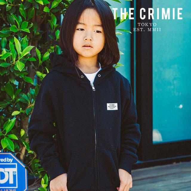CRIMIE(クライミー) KIDS BOX LOGO ZIP PARKA 【2019AUTUMN&WINTER先行予約】 【キャンセル不可】【CR03-01K5-CL50】【パーカー】