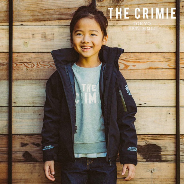 CRIMIE(クライミー) KIDS WATER PROOF 3LAYER THINSULATE 2WAY HOOD JACKET X SERIES TOWN&SNOW 【2019AUTUMN&WINTER先行予約】