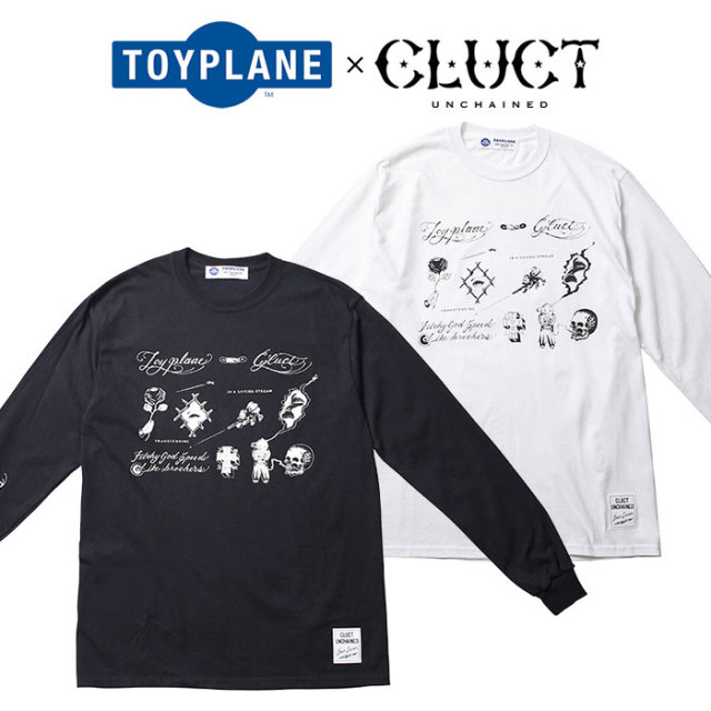 TOYPLANE(トイプレーン)×CLUCT(クラクト) L/S FLASH TEE 【SPECIAL COLLABORATION】 【コラボ ロンT】【TPCT-TE01】