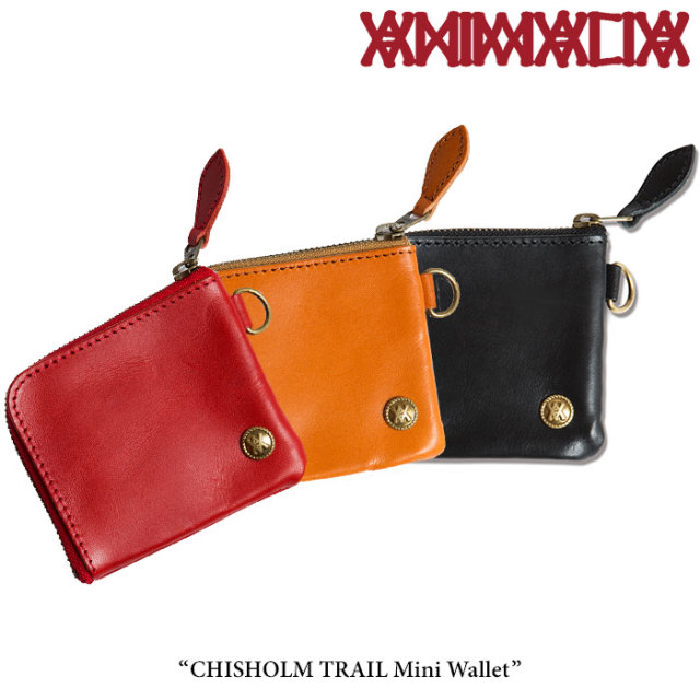 ANIMALIA(アニマリア) CHISHOLM TRAIL Mini Wallet 【2018SPRING先行予約】 【送料無料】【キャンセル不可】 【THE CHERRY COKE$