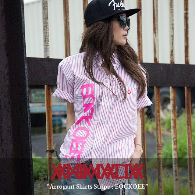 ANIMALIA(アニマリア) Arrogant Shirts Stripe : EOCKOEE 【2018SPRING/SUMMER先行予約】 【送料無料】【キャンセル不可】 【THE