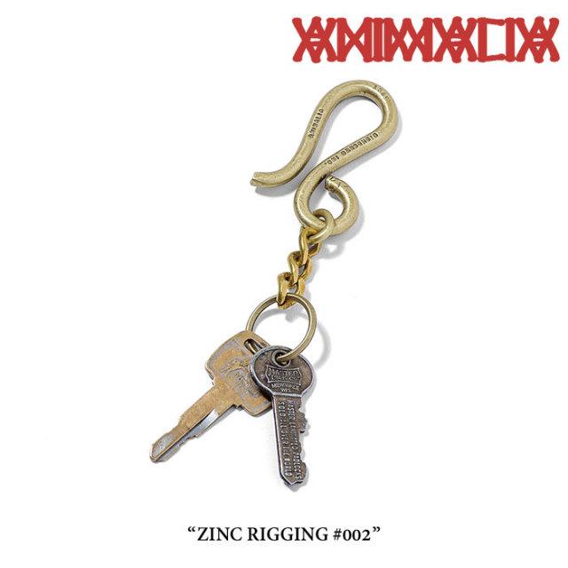 ANIMALIA(アニマリア) ZINC RIGGING#002 【2018SPRING先行予約】 【キャンセル不可】 【ANIMAL-AC32】