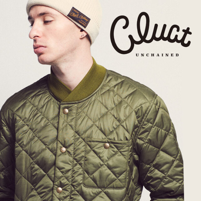 【SALE40%OFF】 CLUCT(クラクト) MILITARY QUILT JKT 【ボアジャケット おしゃれ 防寒】【#02817】 【返品・交換不可】