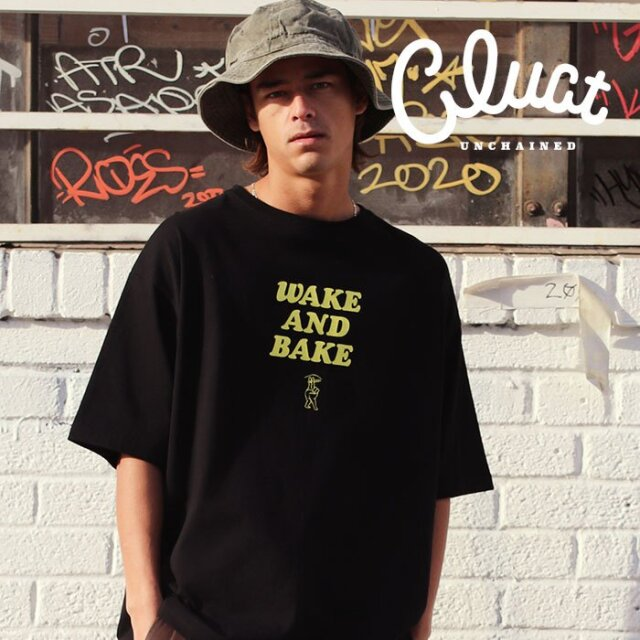 CLUCT(クラクト) WAKE AND BAKE [S/S TEE][W] 【Tシャツ 半袖】【#04223】【2021SPRING新作】