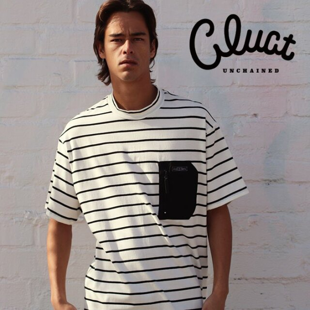 CLUCT(クラクト) PRAIRIE [STRIPE TEE] 【Tシャツ 半袖】【#04231】【2021SPRING先行予約】【キャンセル不可】