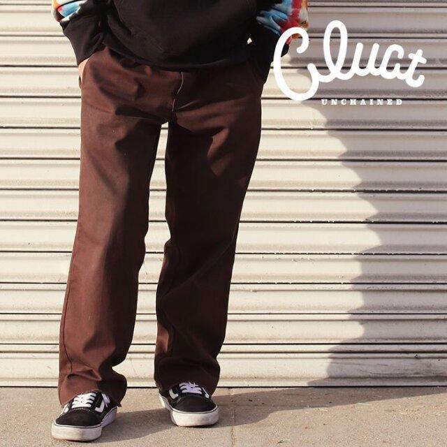 CLUCT(クラクト) BOYD [CHINO PANTS] 【チノパンツ】【#04234】【2021SPRING】【お取り寄せ商品 キャンセル不可】