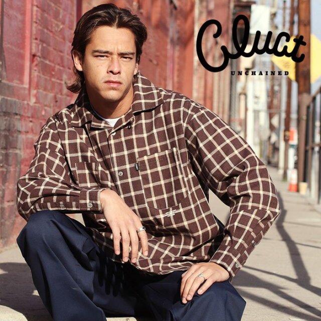 CLUCT(クラクト) EL CAMINO [L/S CHECK SHIRTS] 【ロングスリーブシャツ】【#04265】【2021SPRING先行予約】【キャンセル不可】