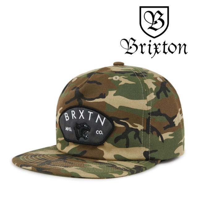 BRIXTON(ブリクストン) WAYLON HP SNAPBACK 【2018AUTUMN/WINTER新作】【即発送可能】