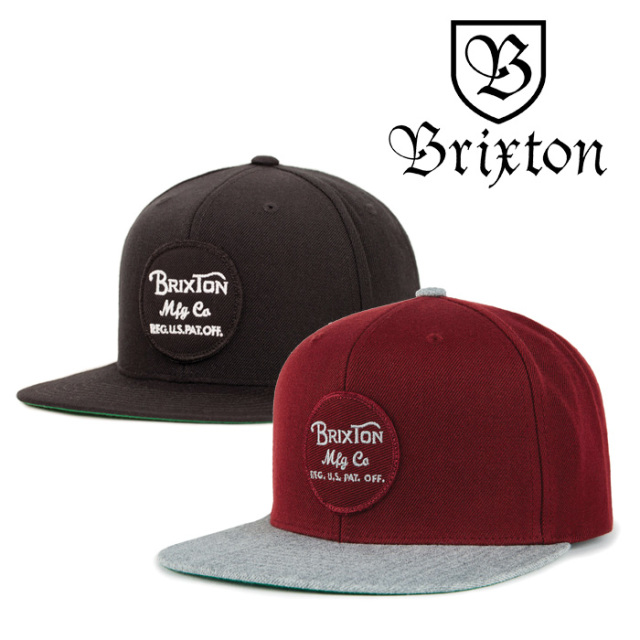 BRIXTON(ブリクストン) WHEELER SNAPBACK 【2018AUTUMN/WINTER新作】【即発送可能】