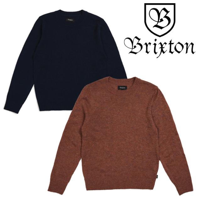 BRIXTON(ブリクストン) WES SWEATER 【2018AUTUMN新作】【即発送可能】