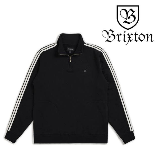 BRIXTON(ブリクストン) B-SHIELD 1/2 ZIP FLEECE 【2018AUTUMN新作】【即発送可能】