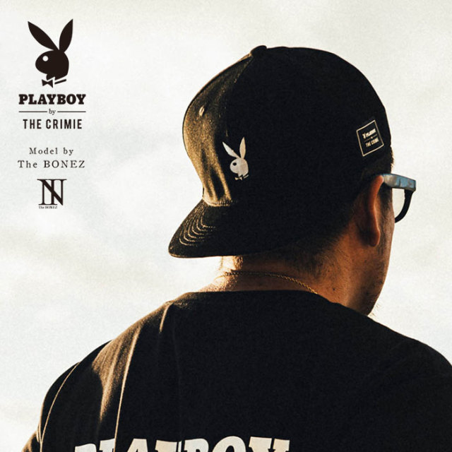 """CRIMIE PLAYBOY SERIES"" meets The BONEZ in Hawaii PLAYBOY BB CAP 【CR01-01K3-HW72】【ベースボールキャップ】 【PLAYBOY】【"
