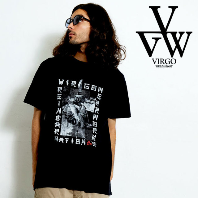 VIRGO ヴァルゴ バルゴ SCARRY PICTURE BOOK S/S 【Uziii×VIRGOwearworks】 【Tシャツ】【VG-CB-91】【2020SPRING&SUMMER先行予約