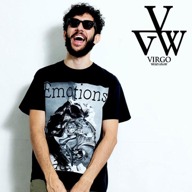 VIRGO ヴァルゴ バルゴ EMOTION IS DEAD 【Uziii×VIRGOwearworks】 【Tシャツ】【VG-CB-92】【2020SPRING&SUMMER先行予約】【キャ