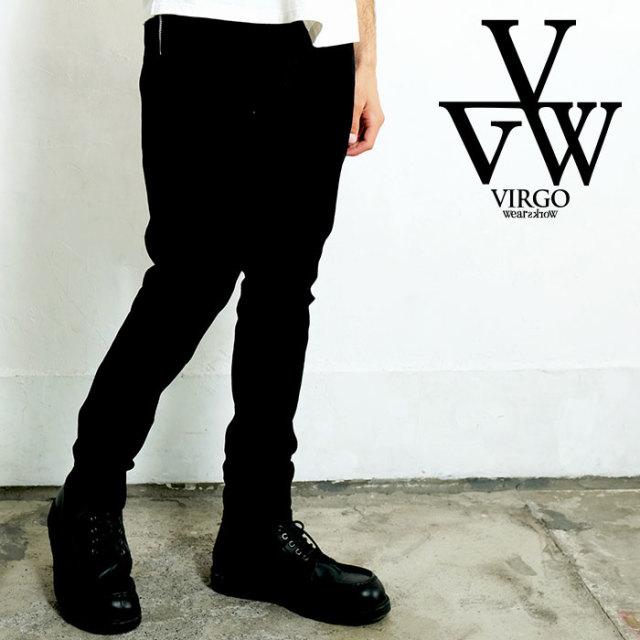 VIRGO ヴァルゴ バルゴ ZIP PKT DENIM  BLK O/W【女神織DENIMES×VIRGOwearworks】 【デニムパンツ】【VG-CB-94】【2020SPRING&SUMM