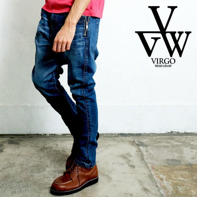 VIRGO ヴァルゴ バルゴ ZIP PKT DENIM  VINTAGE 【女神織DENIMES×VIRGOwearworks】 【デニムパンツ】【VG-CB-95】【2020SPRING&SUM