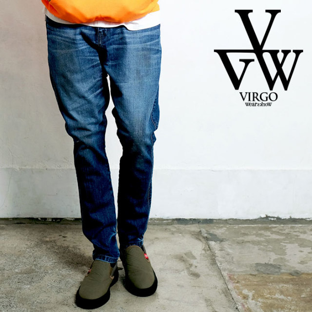 VIRGO ヴァルゴ バルゴ VGW ASTREA LSP 【女神織DENIMES×VIRGOwearworks】 【デニムパンツ】【VG-CB-97】【2020SPRING&SUMMER先行