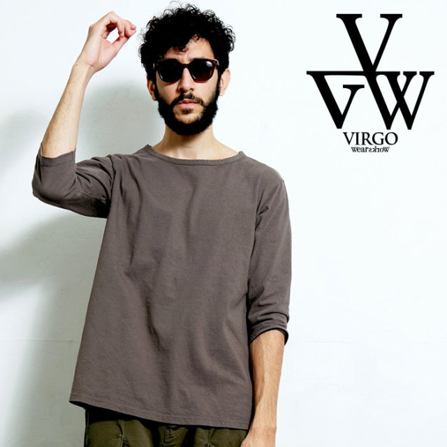 VIRGO ヴァルゴ バルゴ PERFECTION NEO US{3/4 SLEEVE} 【定番 カットソー】【VG-CUT-400】【2020SPRING&SUMMER新作】