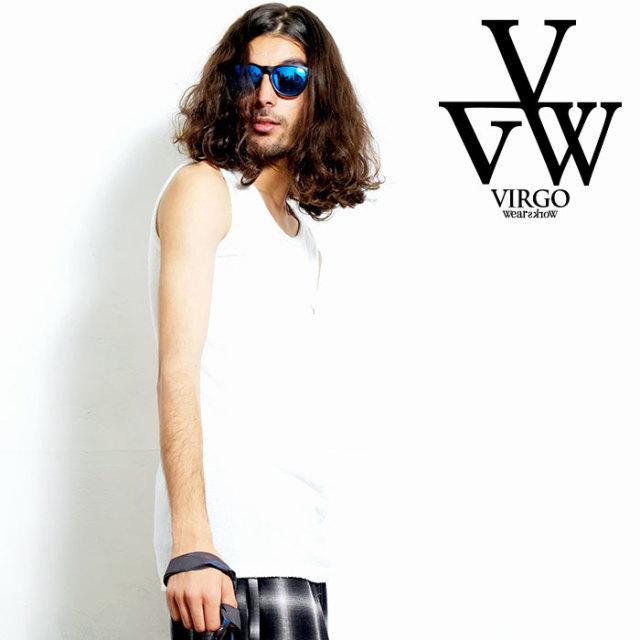 VIRGO ヴァルゴ バルゴ Dad:g TAKNKERS 【タンクトップ】【VG-CUT-408】【2020SPRING&SUMMER先行予約】【キャンセル不可】