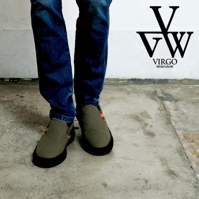 【SALE30%OFF】 VIRGO ヴァルゴ バルゴ VIRTALY QUILT SLIP-ON 【スリッポン スニーカー】【VG-GD-618】 【返品・交換不可】