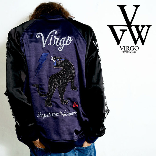 VIRGO ヴァルゴ バルゴ THUNDER PANTHER SOUVENIR JKT 【スカジャン スーベニアジャケット】【VG-JKT-320】【2020SPRING&SUMMER新