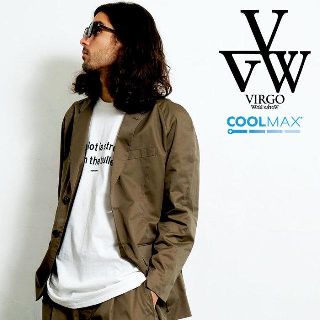 VIRGO ヴァルゴ バルゴ COMFY TAILORED JKT 【テーラードジャケット】【VG-JKT-322】【2020SPRING&SUMMER先行予約】【キャンセル不