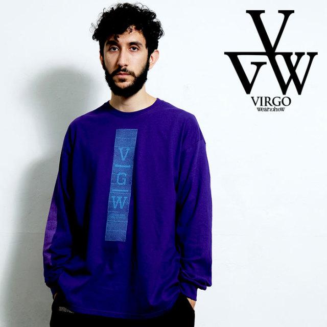 VIRGO ヴァルゴ バルゴ VGW CAGE 【ロングスリーブTシャツ】【VG-LSPT-65】【2020SPRING&SUMMER先行予約】【キャンセル不可】